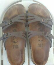BIRKENSTOCK Birkis EU 39 UK 5.5 Double Buckle Adjustable Slide Sandals EXCELLENT