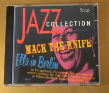 [AD-236] CD - JAZZ COLLECTION - MARK THE KNIFE - ELLA IN BERLIN -  2001 - OTTIMO