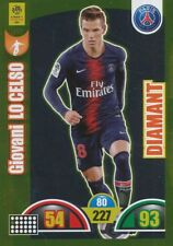 419 GIOVANI LO CELSO # ARGENTINA DIAMANT CARD ADRENALYN LIGUE 1 2019 PANINI