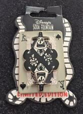 Disney DSF Nightmare Before Christmas Playing Cards King of Spades Mayor LE Pin