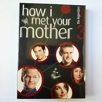 How I Met Your Mother - Season 3 (DVD, 2008, 3-Disc Set) Brand New Sealed