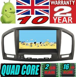 ANDROID 10 OPEL INSIGNIA 2008-2012 CAR RADIO AUTO DVD GPS USB WIFI 3G DAB+ USB