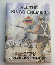 S.TRIGELLIS -SMITH - ALL THE KINGS ENEMIES - 1st EDITION 1988 -SIGNED BY AUTHOR