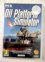 20731 - Oil Platform Simulator [NEW & SEALED] - PC (2011) Windows 7