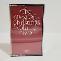 Capitol Records The Best of Christmas Volume 2 Cassette Tape Music Vintage