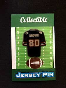 New England Patriots Troy Brown jersey lapel pin-CHAMPION Collectible-Fan Fav