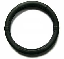 Lenkrad Bezug echtes Leder schwarz perforiert für Lenkräder von 37 - 39 cm
