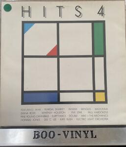 THE HITS ALBUM 4 VARIOUS ARTISTS 1980 DOUBLE VINYL RECORDS EX / EX