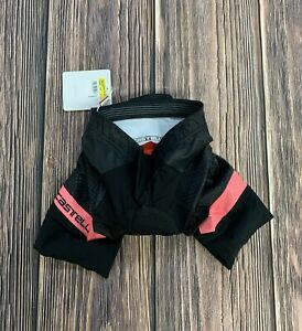 Castelli Free Aero Race 4W Short Women's Small Black / Pink New with Tags