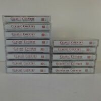 Lot of 13 Time Life Music Classic Country Tapes Lot Queens 1960-64 1965-69 70-74
