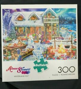 Aimee Stewart Winterland Fun 300 Large Piece Jigsaw Puzzle