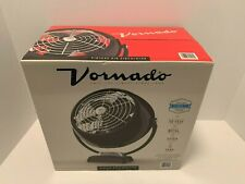 Vornado Classic Vintage Metal Fan Tilt Retro Air Circulator (Black) NEW