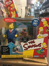 Playmates Toys Simpsons Interactive Town Hall Environment Mayor Quimby