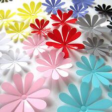 12x 3D Sticker Fleur Papillon Autocollant Muraux Décor Chambre Maison Cadeau NF