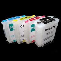 mini CISS refill 940 BLACK MAGENTA CYAN quick fill cartridge Longprint für HP