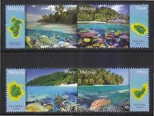 MALAYSIA 2015 ISLANDS & BEACHES SERIES III COMP. SET OF 4 STAMPS IN MINT MNH