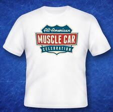 American muscle tshirt classic car motor memorabilia