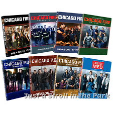 Chicago Fire + PD + Med Complete Dick Wolf Franchise Series Seasons Box/DVD Sets