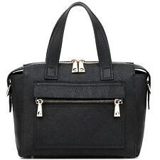 """Thompson Luxury Bags """"Charlotte"""" echt Leder Tasche Satchel Handtasche - UVP 259€"""