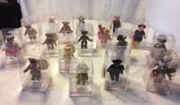 "Miniature Teddy Bears Gund Barton Creek Collection Lim Ed Mohair Jointed 2""-3"""