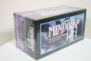 MindTrap Card Game 1996 Pressman Mind Trap Murder Mystery Crime Puzzle