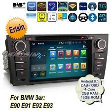 DAB+BMW Autoradio Android 8.1 E90 E91 E92 E93 3er GPS Wifi Navigatore DTV 3867IT