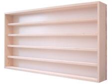 Nagellack Vitrine Holz Regal Sammlervitrine V 32 Birke 60 cm hoch 5 Fächer