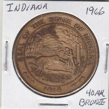 Lam (C) Token - Indiana - (1816-1966) - 40 mm Bronzo