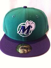 Authentic New Era Dallas Mavericks Cap Basketball Hat Nba NBA Fitted 7 1/8 New