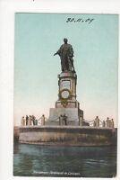 Monument Ferdinand de Lesseps Port Said Egypt 1909 Postcard 140a