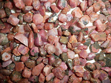Natural Ruby Rough Stone Small Nugget from Tanzania 0.5 kg Lot