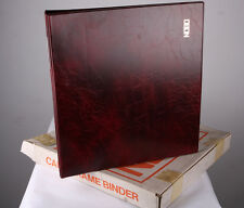 Nobo Card Frame Binder Mahogony 341 31005