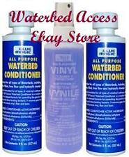 2 8oz BLUE MAGIC All Purpose Waterbed Conditioner & Vinyl Multi Purpose Cleaner