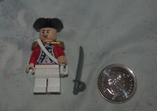 Lego MiniFigure Pirates Caribbean King George Officer from 4193 London Escape