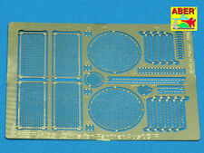 GRILLES FOR GERMAN TANK PZKPFW V AUSF.G/F 'PANTHER' SD.KFZ.181  #35G02 1/35 ABER