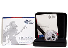 2017 Great Britain 1 oz Silver Britannia Proof £2 Coin In OGP SKU48982