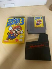 Super Mario Bros 3 with Original Box