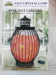 """NEW 10"""" Himalayan Glow Salt Crystal Lamp Natural Air Purifier W / Dimmer Switch"""