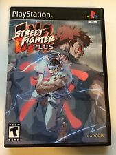 Street Fighter EX2 Plus - Playstation - Replacement Case - No Game