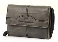 TOM TAILOR Rock Leather Purse Damengeldbörse Grau Grey