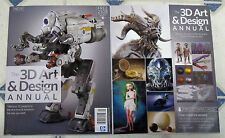 3D ART & DESIGN ANNUAL Book 194 Pages + 23 GB of Free Assets PROJECTS Transform