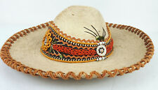 Vtg Licinio Sanchez Bolivar 160 Sahuayo Mexico Sombrero Pigalle Hat Heavy Sm