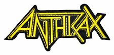 "Anthrax Iron On Patch 5"" x 1 3/4"" Officially Licensed P-4416 Free Shipping"
