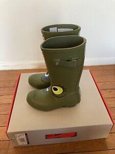 Hunters Original Alien RainBoots Child Size 12/13/hunter Boot Socks Medium