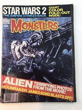 Famous Monsters #156 (Warren Aug 1979) Alien, Star Wars Empire Strikes Back