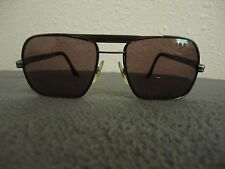 Vintage Libco Aviator Sun-glass Frames Stainless Silver/Dark Grey/ 33/34 150 Fx