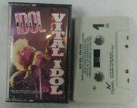 "1987 Billy Idol ""Vital Idol"" Audio Cassette Tape Chrysalis See Pics!"
