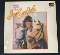 JON ENGLISH - WINE DARK SEA - LP 1973 - OZ EDITION - GOOD++ CONDITION