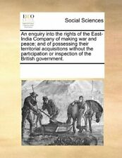 An enquiry into the rights of the East-India Co, Contributors, Notes PF,,