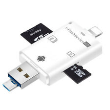 OTG SDHC Micro SD TF Card Reader For iPhone X XR 6 7 8 Plus Samsung S5 S6 Xiaomi